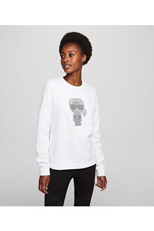 Karl Lagerfeld Women Sweatshirts - K/Ikonik Sparkle Sweatshirt