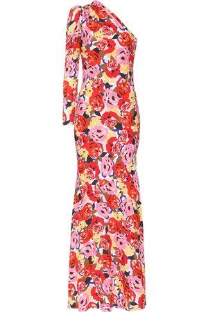 Rebecca Vallance Blume crêpe gown