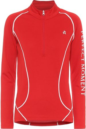 Perfect Moment Half-zip thermal top