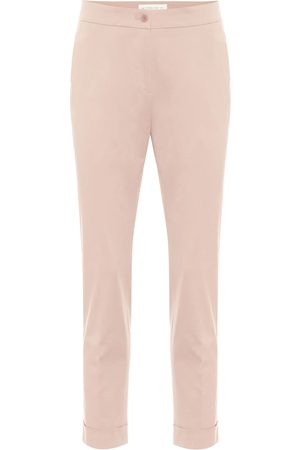 Etro Mid-rise stretch-cotton pants