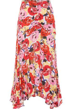 Rebecca Vallance Blume floral crêpe skirt