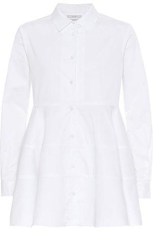 CO Tton-poplin blouse