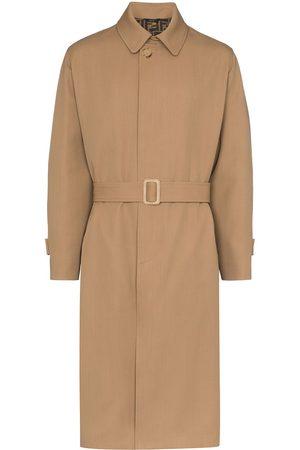 Fendi Belted trench coat - NEUTRALS