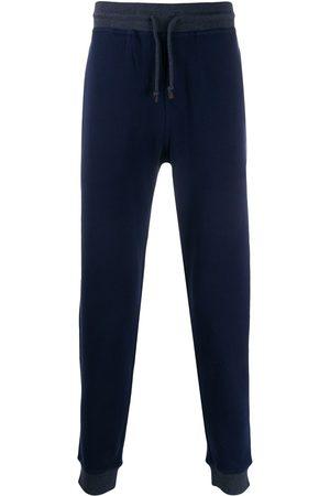 Brunello Cucinelli Men Sweatpants - Straight leg track trousers