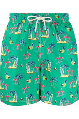 Polo Ralph Lauren Men Swim Shorts - Drawstring printed swim shorts