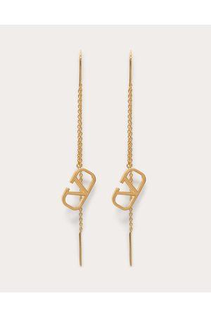 VALENTINO GARAVANI Women Earrings - Vlogo Signature Earrings Women 100% Brass OneSize