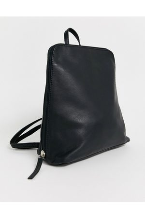 ASOS Clean leather backpack