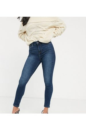 Vero Moda High Waisted - Skinny jeans with high waist in mid wash