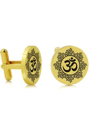 SuperJeweler Om Cufflinks
