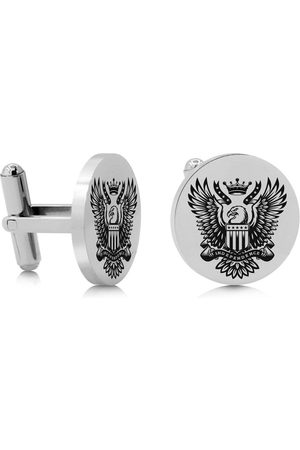 SuperJeweler Bald Eagle Cufflinks