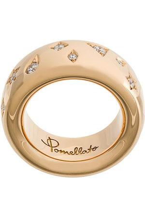 Pomellato 18kt rose Iconica diamond ring - Metallic