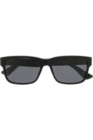 Gucci Web square sunglasses