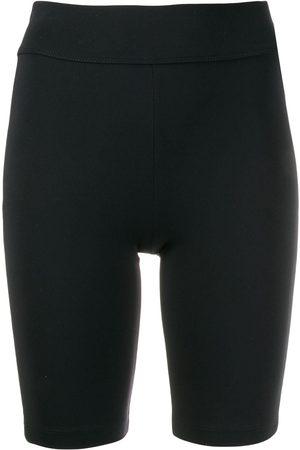 NO KA' OI Glitter side stripe cycling shorts