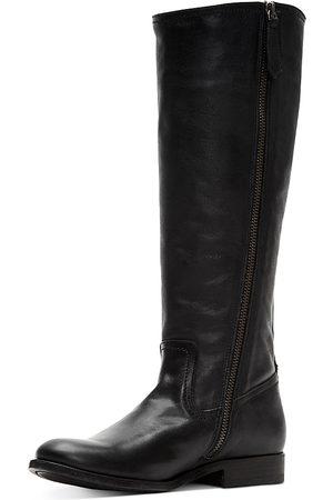 Frye Women Thigh High Boots - Women's Melissa Leather Tall Boots