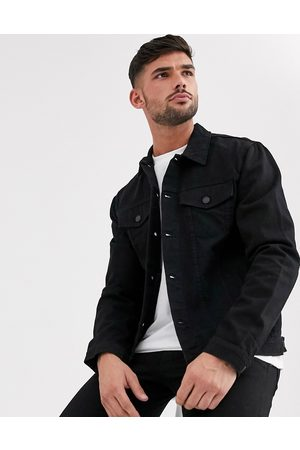 New Look Regular fit denim jacket in wash