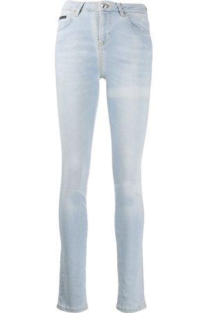 Philipp Plein High-rise skinny jeans - 07GD Gang Dance