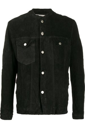 GIORGIO BRATO Collarless shirt jacket