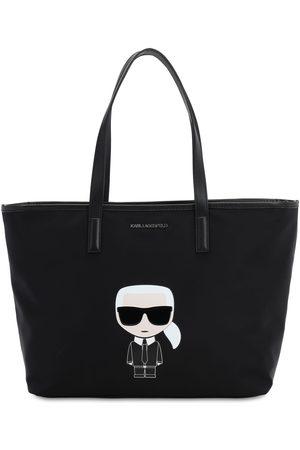 Karl Lagerfeld K/ikonik Karl Tote Bag W/leather