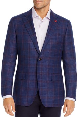 Cardinal of Canada Tonal Windowpane Plaid Regular Fit Sport Coat - 100% Exclusive