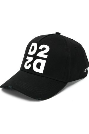 Dsquared2 Printed embroidered baseball cap