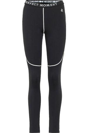 Perfect Moment High-rise thermal leggings