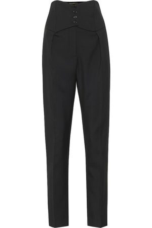Saint Laurent Wool-twill slim pants