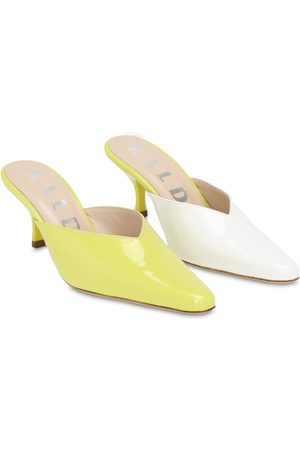 KALDA 55mm Bicolor Patent Leather Mules