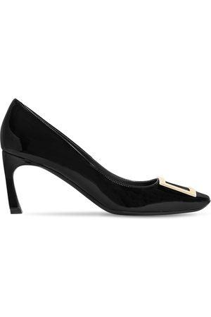 Roger Vivier Women High Heels - 70mm Trompette Patent Leather Pumps
