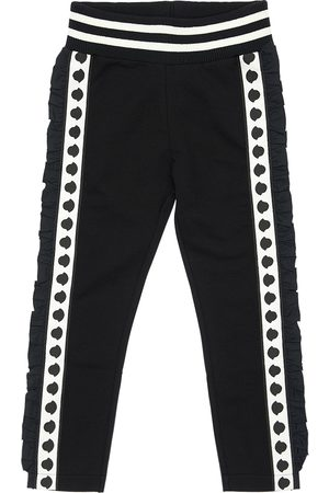 Moncler Logo Bands Cotton Sweatpants