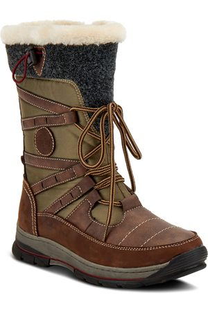 Spring Step Women's Brurr Faux Fur Lined Waterproof Snow Boot