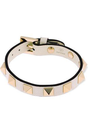 VALENTINO GARAVANI Women Bracelets - Rockstud Leather Belt Bracelet