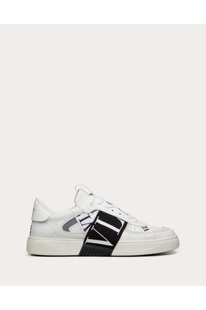 VALENTINO GARAVANI Calfskin Vl7n Sneaker With Bands Man / 100% Pelle Di Vitello - Bos Taurus 39.5