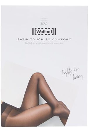 Wolford Women Stockings - Satin Touch Comfort 20-denier Tights - Womens - Nude