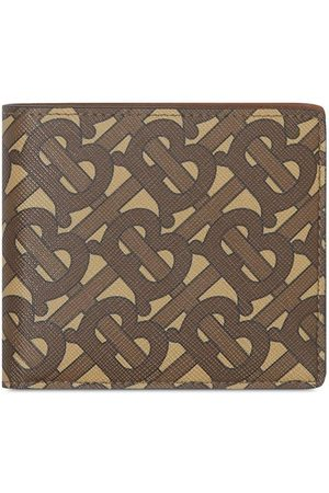 Burberry Men Wallets - Monogram print wallet - Neutrals