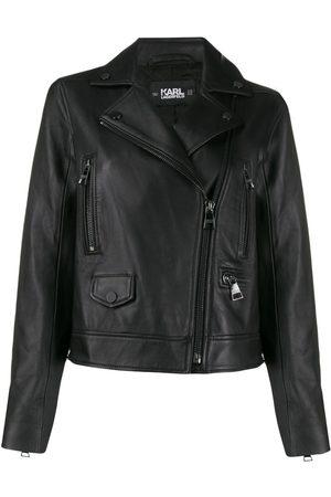 Karl Lagerfeld Ikonik leather biker jacket