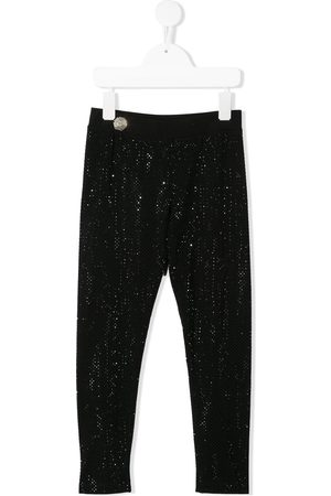 Philipp Plein Crystal jogging leggings