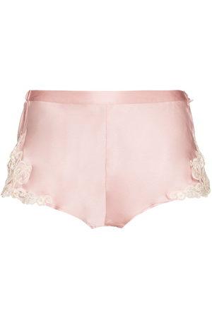 La Perla Women Shorts - Maison silk shorts