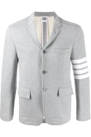 Thom Browne 4-Bar unconstructed classic jacket - Grey