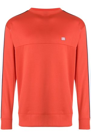Ami Bicolor crew neck sweatshirt