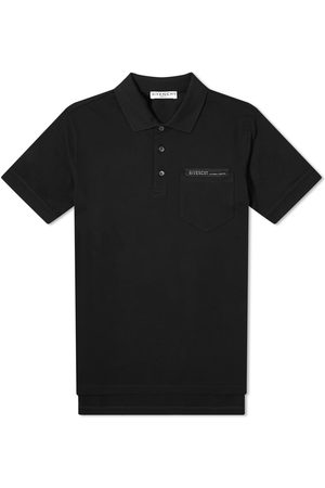 Givenchy Tape Logo Pocket Polo