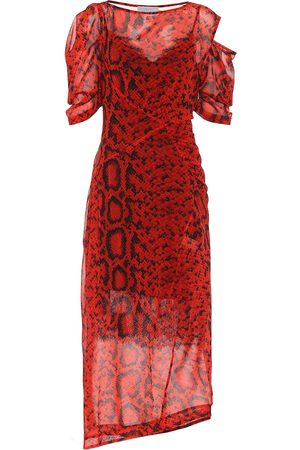 THORNTON BREGAZZI Franny georgette midi dress