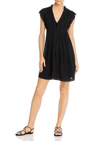POUPETTE ST BARTH Sasha Pleated Mini Dress