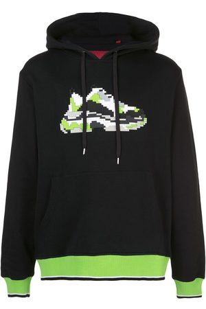 MOSTLY HEARD RARELY SEEN Mint Wave jersey hoodie