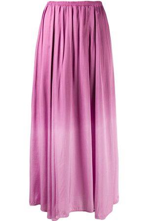 FORTE FORTE Women Midi Skirts - Gradient pleated midi skirt