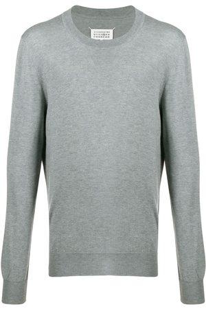 Maison Margiela Décortiqué elbow patch jumper - Grey