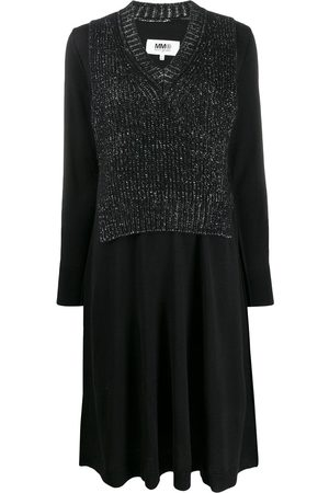 MM6 MAISON MARGIELA Spliced bib panel dress
