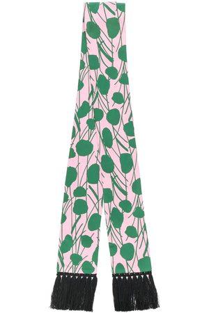 La DoubleJ Women Scarves - Simple Moses Rosa skinny scarf