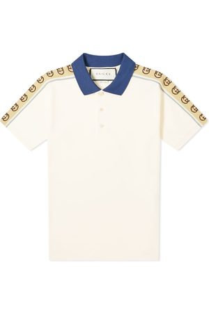 Gucci Taped Logo Polo Shirt