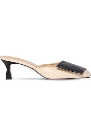 Wandler 55mm Leather Mules