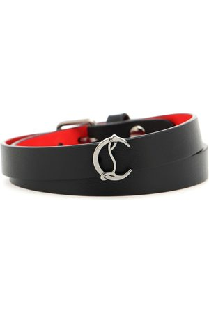 Christian Louboutin Loubilink leather bracelet
